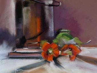 Orange Glow  – Pastel