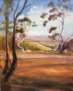 Skillogalee Clare Valley Oil on canvas framed 64x79 cms $600